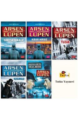 Arsen Lüpen Bütün Maceraları - 5 Kitap