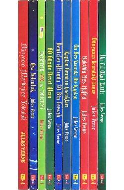 Jules Verne Kitap Seti - 10 Kitap