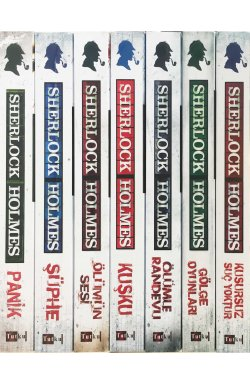 Sherlock Holmes Bütün Maceraları - 7 Kitap