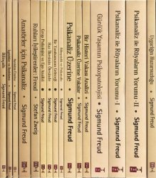 Sigmund Freud Kitap Seti - 16 Kitap